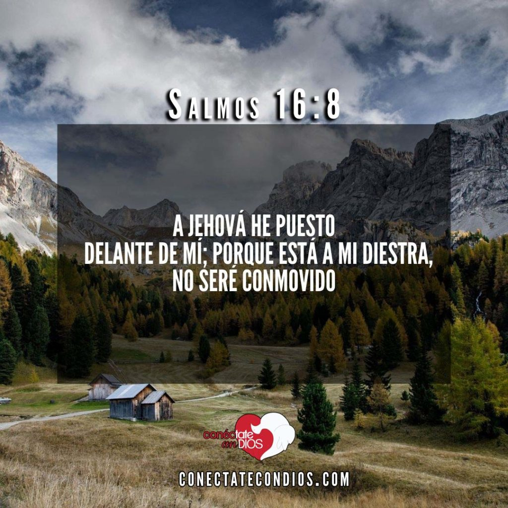 salmos 16 8 Texto Biblicos De Proteccion