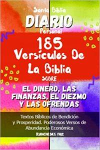 Santa Biblia Diario Personal 185 Versículos de La Biblia Sobre el Dinero, las Finanzas, el Diezmo y las Ofrendas