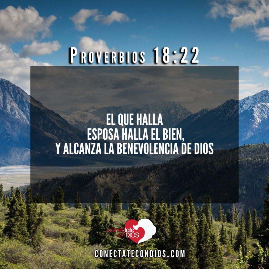 proverbios 18 22 versiculos de amor de pareja